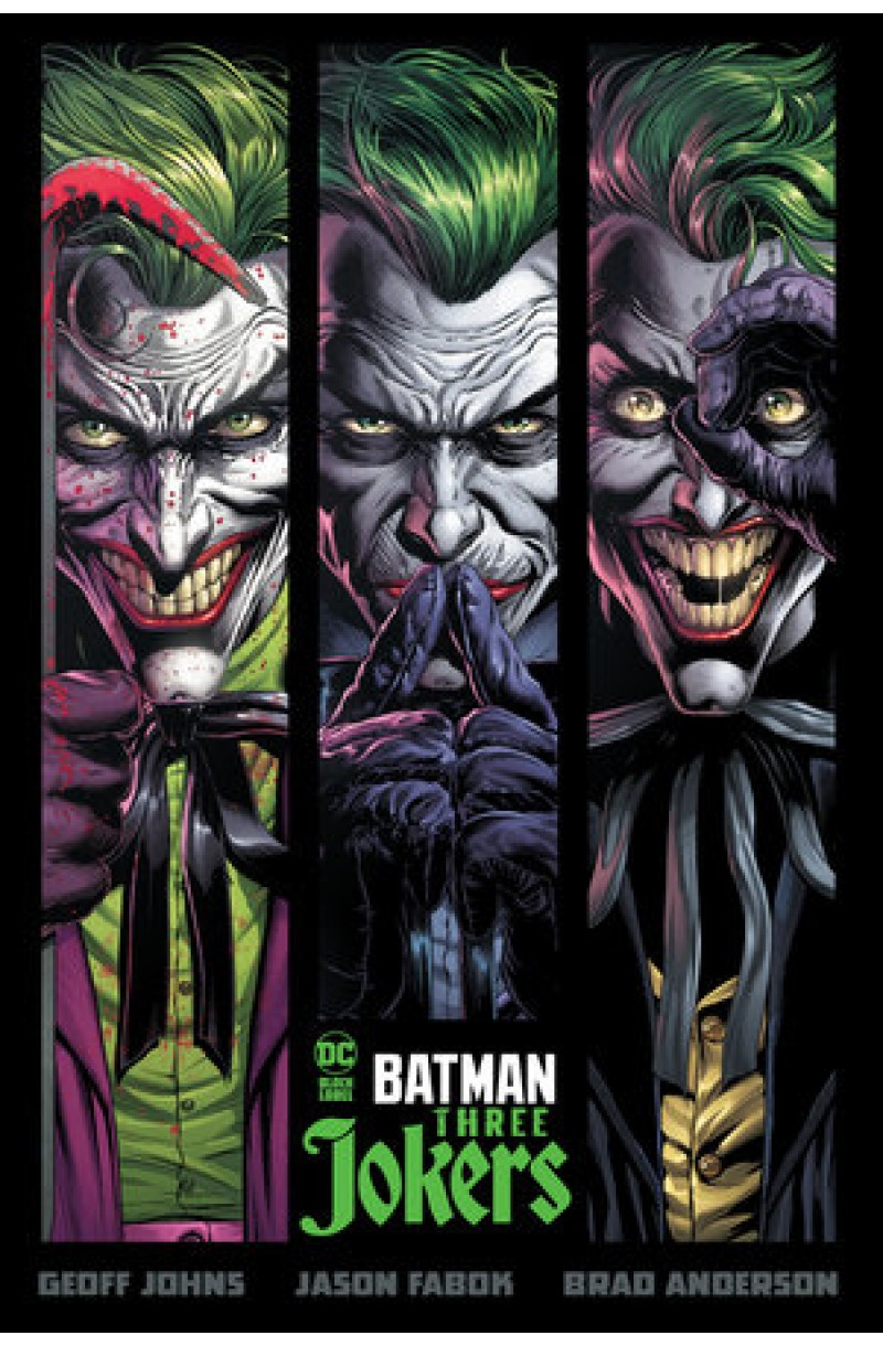 Batman: Three Jokers - editie cartonata