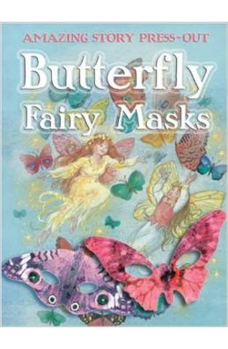 Butterfly Fairy Mask (Press Out)