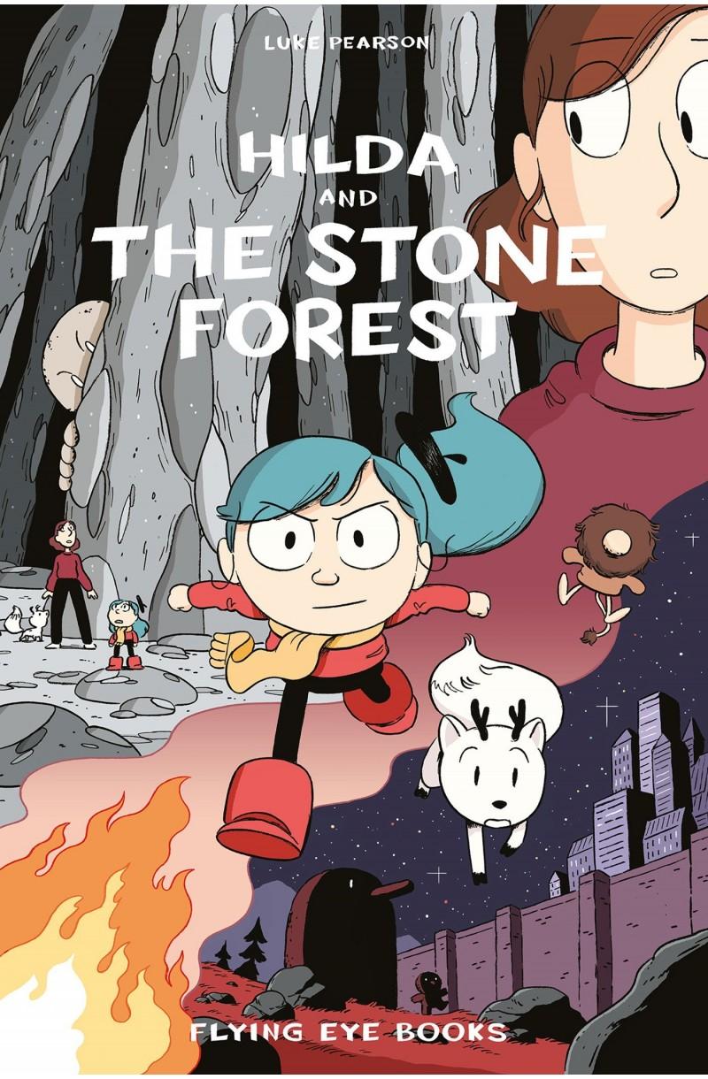 Hilda and the Stone Forest: 5 (Hildafolk)