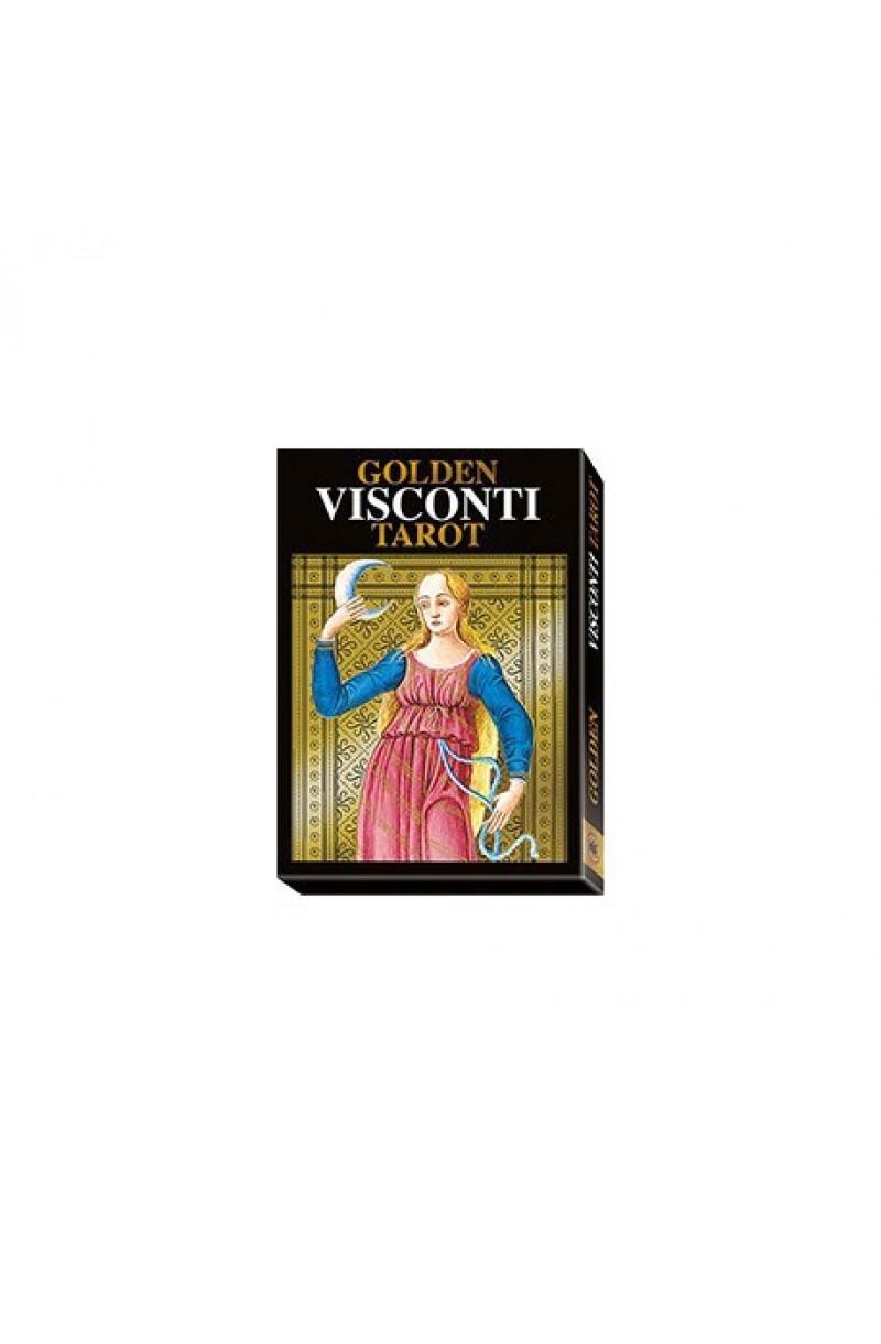 Golden Visconti Tarot - Grand Trumps (golden foil)