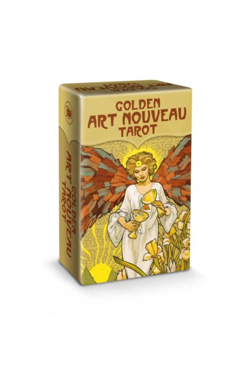 Golden Art Nouveau Tarot Mini