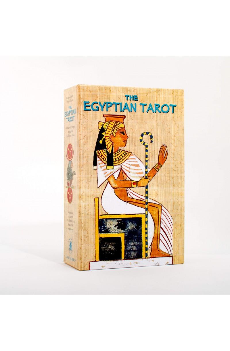 Egyptian Tarot Set (Book + Cards)